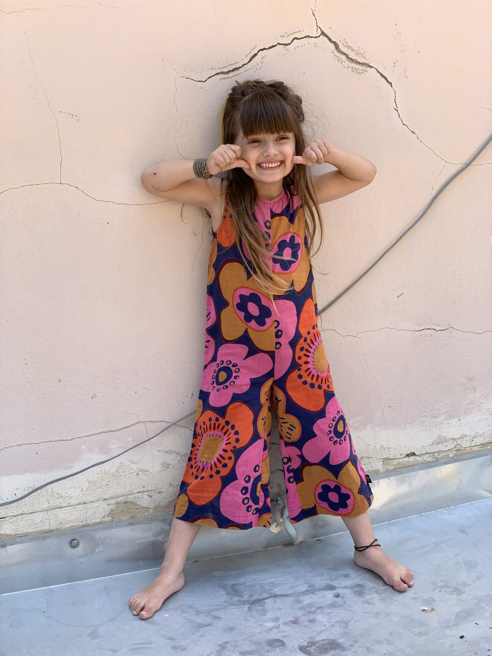 60`S Jumpsuit for girls