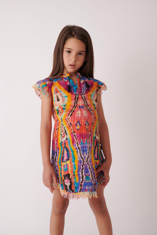 Magic Loom Caftan Dress